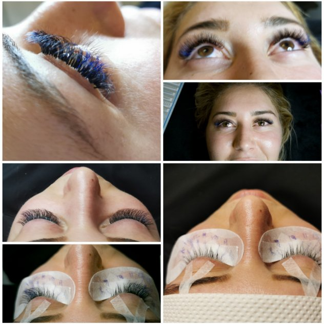 Eyelash extension Russian Volume